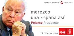 PSOE, la empresa política de Polanco